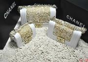 оптовой и розничной 2013 Chanel Лев Мальчик Lamb кожаная сумка с жемч